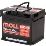 Аккумулятор Moll M3 Plus 12V-46A\h 420-520(EN)  Германия