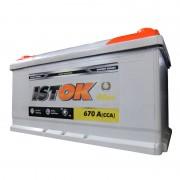 Аккумулятор ИСТОК (ISTOK) 90 a/h евро 670A