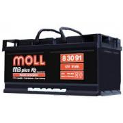 Аккумулятор Moll M3 Plus 12V-91A\h 800-900 (EN) Германия
