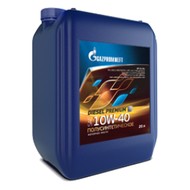 Gazpromneft Diesel Premium SAE 10W-40 API CI-4/SL