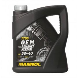 MANNOL 7705 O.E.M. for Renault Nissan API SN/CF